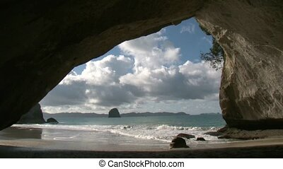 Cathedral Cove 1 - Cathedral Cove in Coromandel, North...