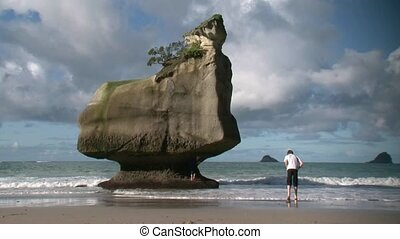 Cathedral Cove 4 - Cathedral Cove in Coromandel, North...