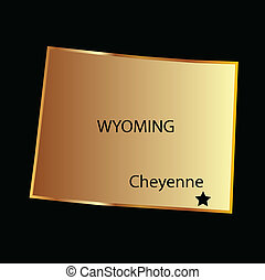 Wyoming state usa
