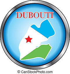 Dubouti Rep Round Button - Vector Illustration for the...