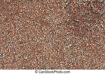 background of small stones granite