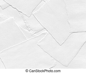 Torn pieces of paper