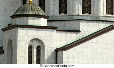 Temple of St Sava - Belgrade - tilt up