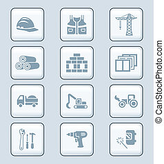 Construction icons | TECH series - Construction tools,...