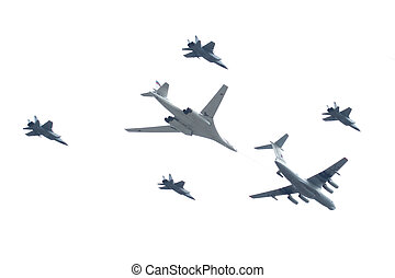 Il-78, Mig-31, Tu-160 - tu-160 is a supersonic,...