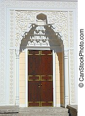 The door of Turkish Bath Pavilion.