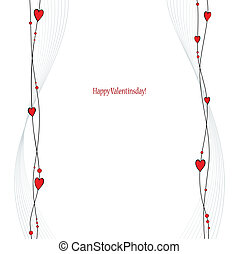 Valentine's Day greetings card - Nice Valentine's Day...