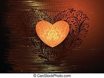 Valentine Heart - Stylized Valentine Heart