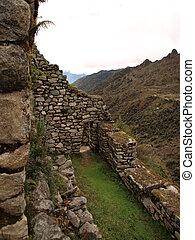 Inca city walls