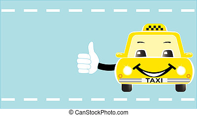 business card with taxi - business visiting card with...