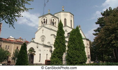 Church of St Sava - Belgrade Day, summer outdoor