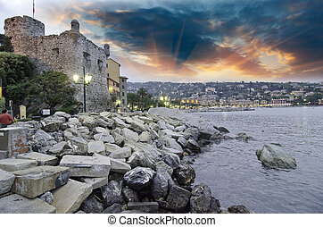 Landscape of Santa Margherita Ligure, Italy