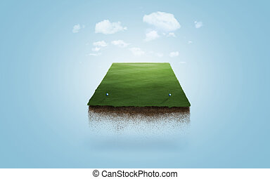 Floating Tee Box