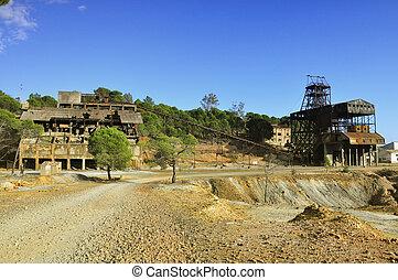 Area mining, Spain