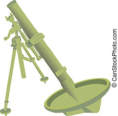 The big mortar Small artillery Dangerous artillery