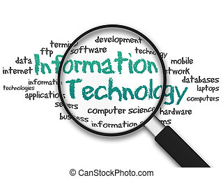 Magnifying Glass - Information Technology - Magnifying Glass...