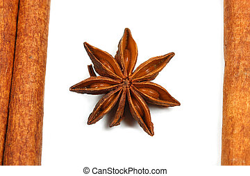 Star anise isolated