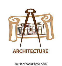 architecture - Template icon Art - a symbol of architecture...