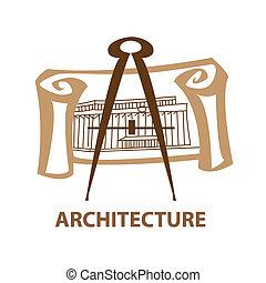 architecture - Template icon Art - a symbol of architecture....