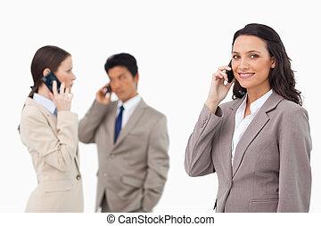 Vendedores, teléfono
