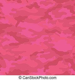 Pink Camouflage Background