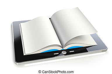 Tablet Pad Book