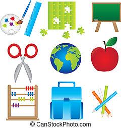 Materials of school