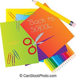 Materials to school