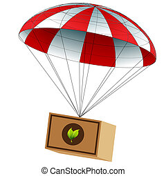 Charitable Food Supply Drop - An image of a charitable food...