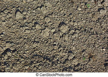 Cultivated soil background