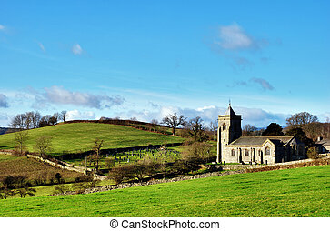 Quaint English Rural Church - Quaint English rural stone...