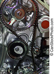 Car enginet - Close up image of an internal combustion...