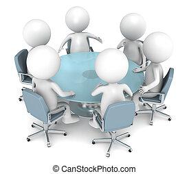 empresa / negocio, reunión