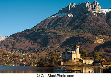 Castle French Alps Horizontal