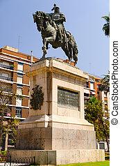 Monumento a Jaime I de Aragon, el Conquistador - Jaime I de...