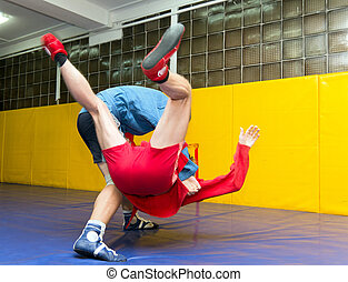 Sambo - Competition for young wrestlers Sambo