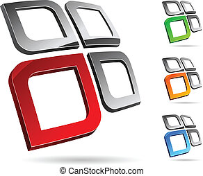 Company symbol. - Abstract company symbol. Vector...