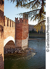 Bridge of Castelvecchio Verona - Italy