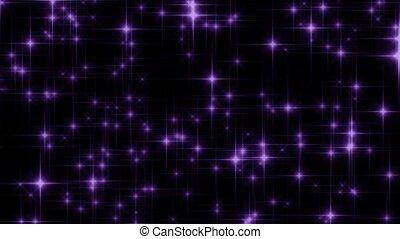 Scintillating Violet Loop