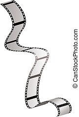Film strip fall