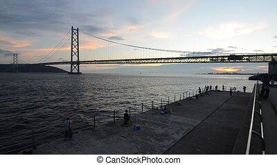 Pearl Bridge - Akashi Kaikyo Bridge, also known as Pearl...
