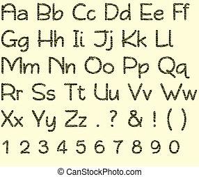 Camo Green Alphabet & Number Set - Camo Green Alphabet...