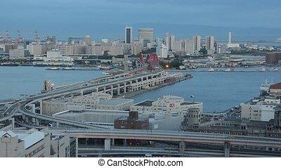 Urban Scene in Kobe, Japan - Urban scene in Kobe, Japan...
