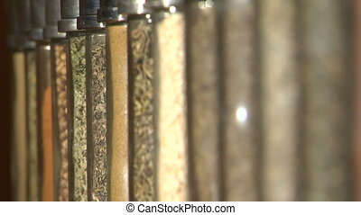 Spices xcu rack focus - This is a nice extreme close up shot...