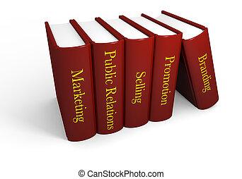 mercadotecnia, Libros