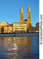 The Grossmunster in Zurich