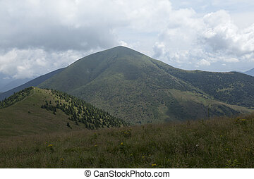 Rozsutec mountain, Velka Fatra mountains in Slovakia