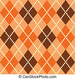 Retro colorful argile pattern or background - brown