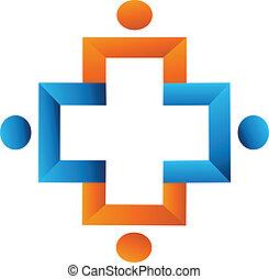 Teamwork cross logo