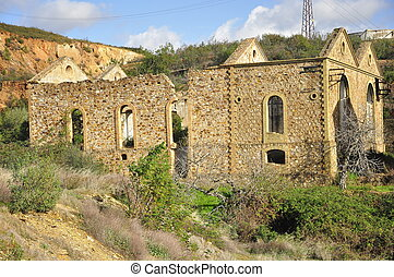 Historical mine site